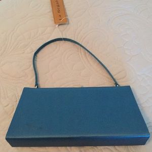 Evening bag in blue